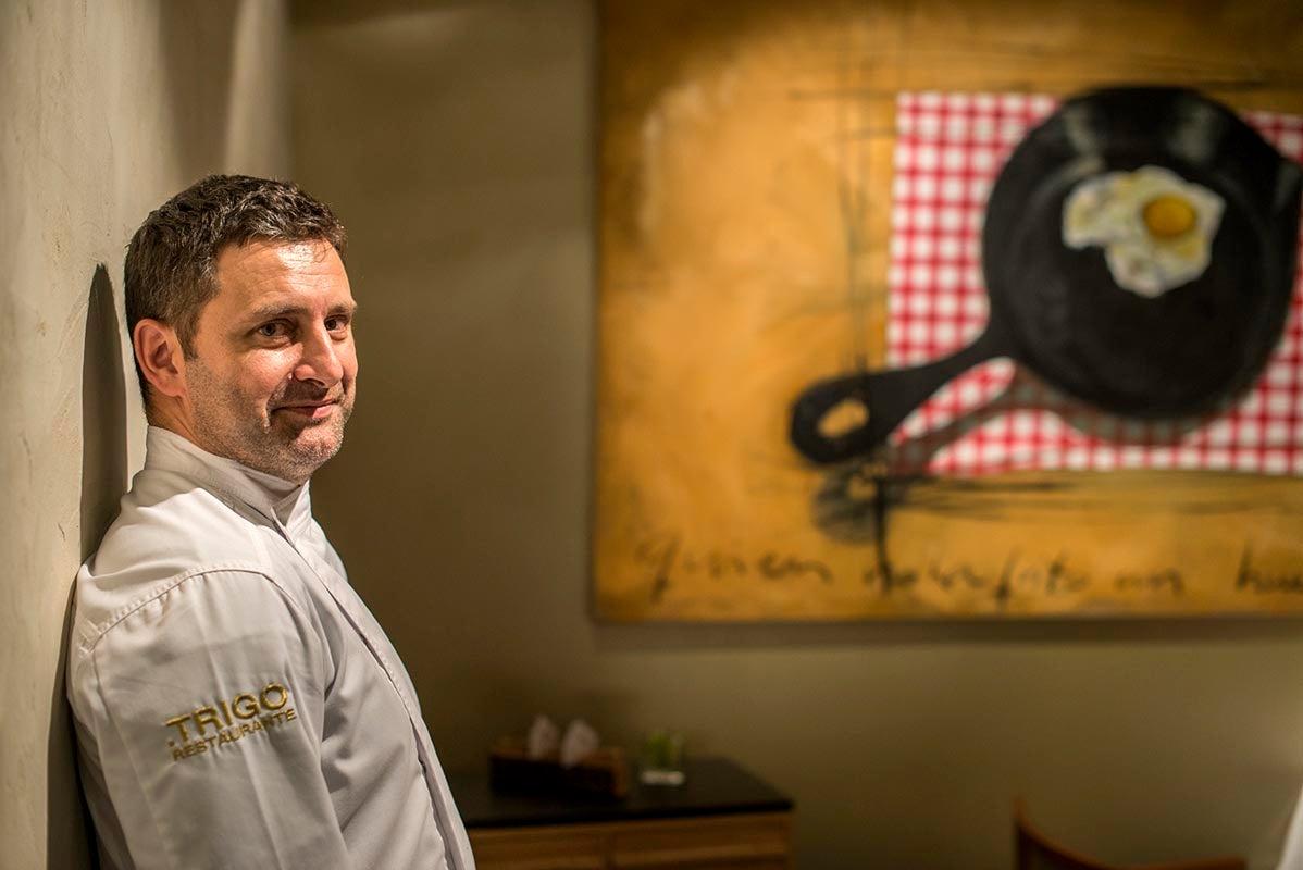 Víctor García, restaurante Trigo