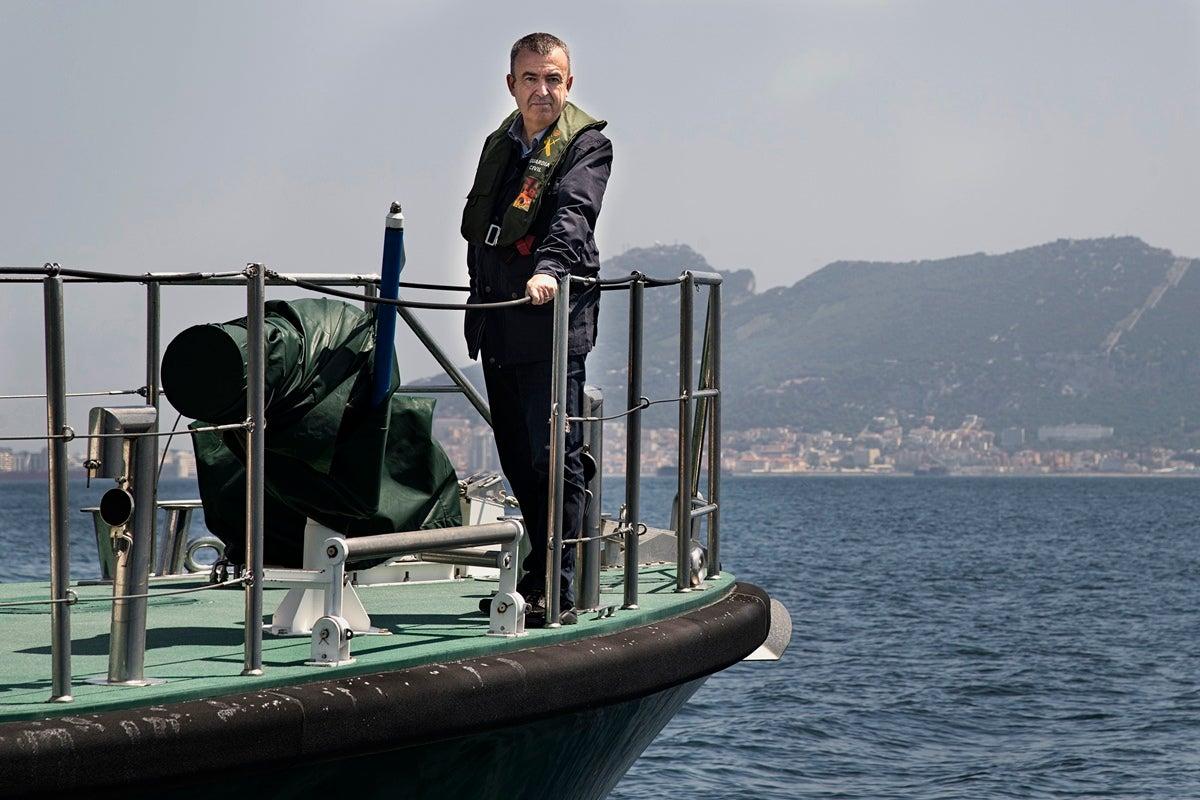 El Estrecho de Gibraltar es el escenario principal de la última novela de Lorenzo Silva, 'Lejos de tu corazón'. Foto: Carlos Ruiz B.K.