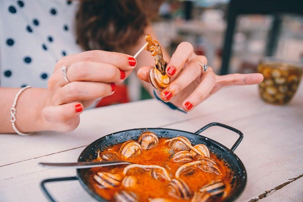 Los caracoles se comen en Córdoba de febrero a junio.
