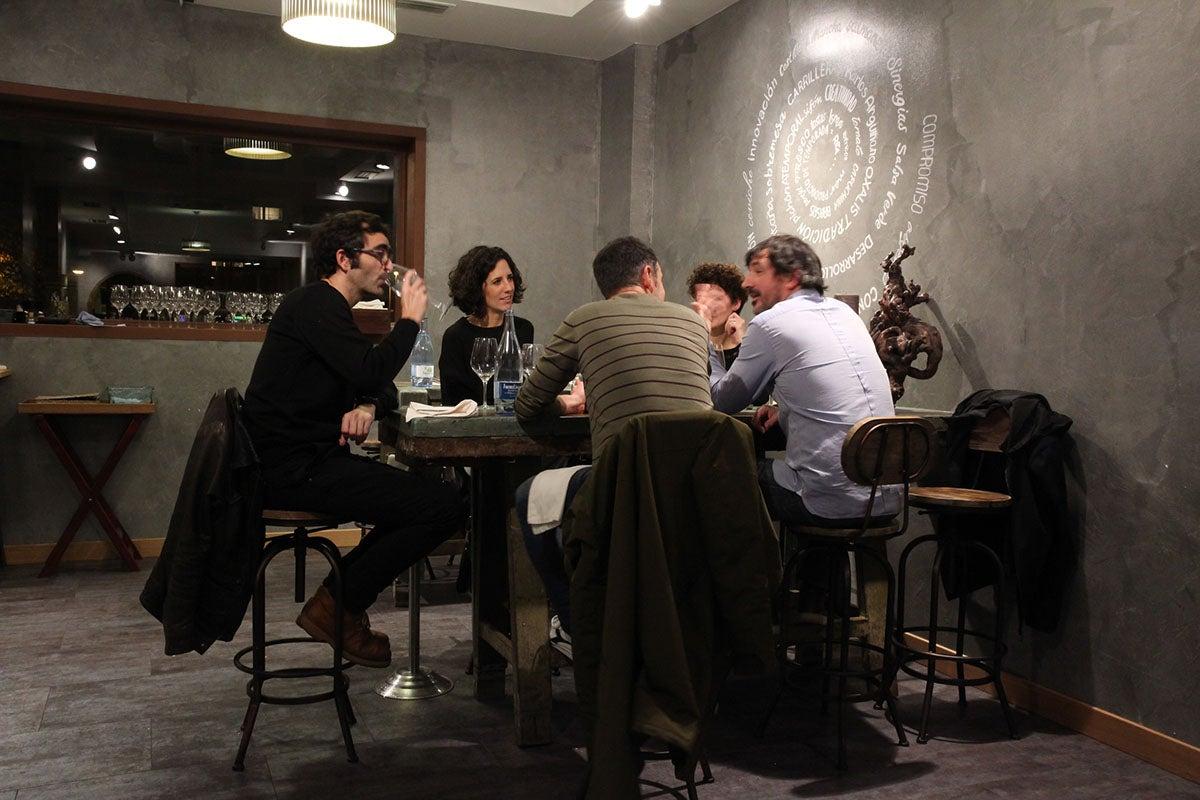 Ambiente en el restaurante 'Rita