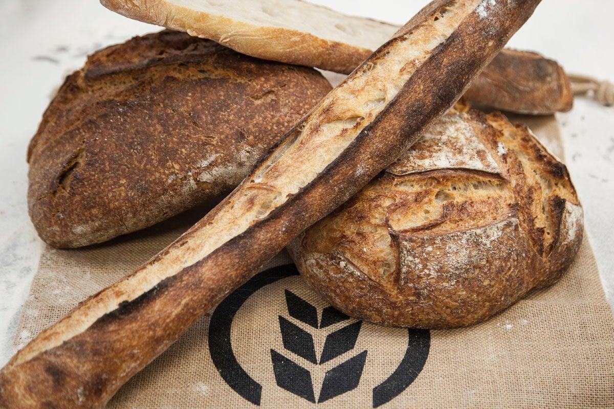 Aquí hay pan de verdad.