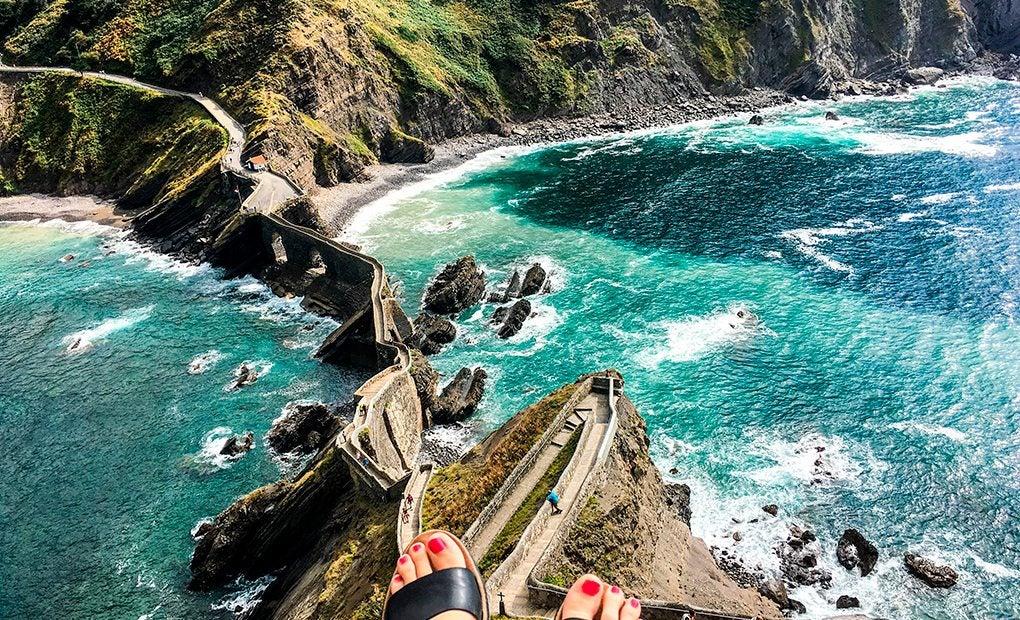 San Juan de Gaztelugatxe, un lugar mágico. Foto: Daliusposus (Shutterstock).