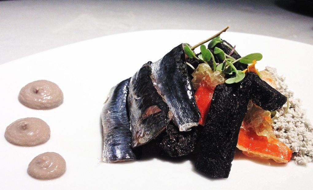 Sardinas con hoguera. Foto: Cortesía del restaurante Cocinandos.