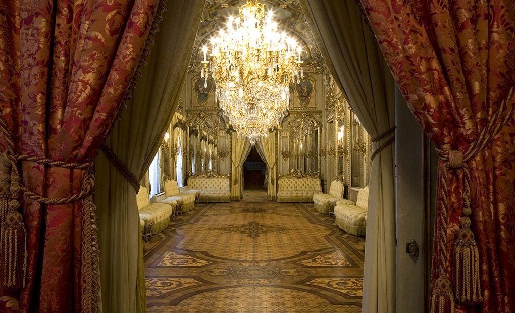 Salón de baile del Palacio Fernán Núñez..