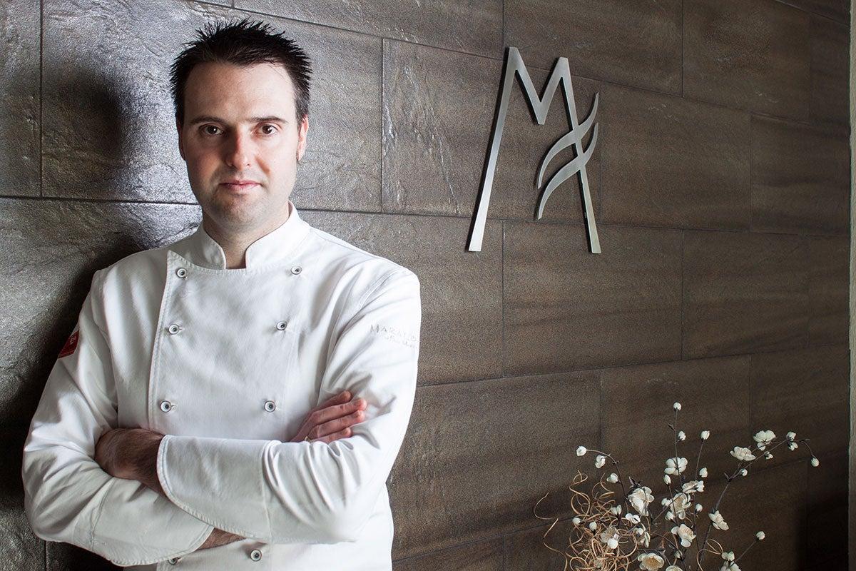 chef del restaurante Maralba. Foto: Restaurante Maralba
