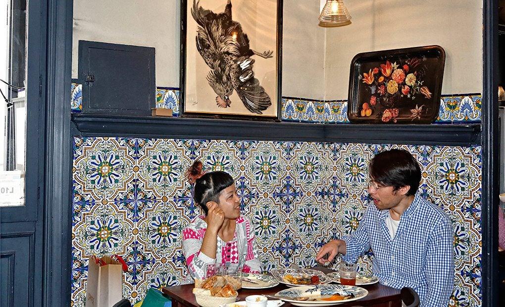 La Taberna Carmencita, uno de los clásicos del barrio.