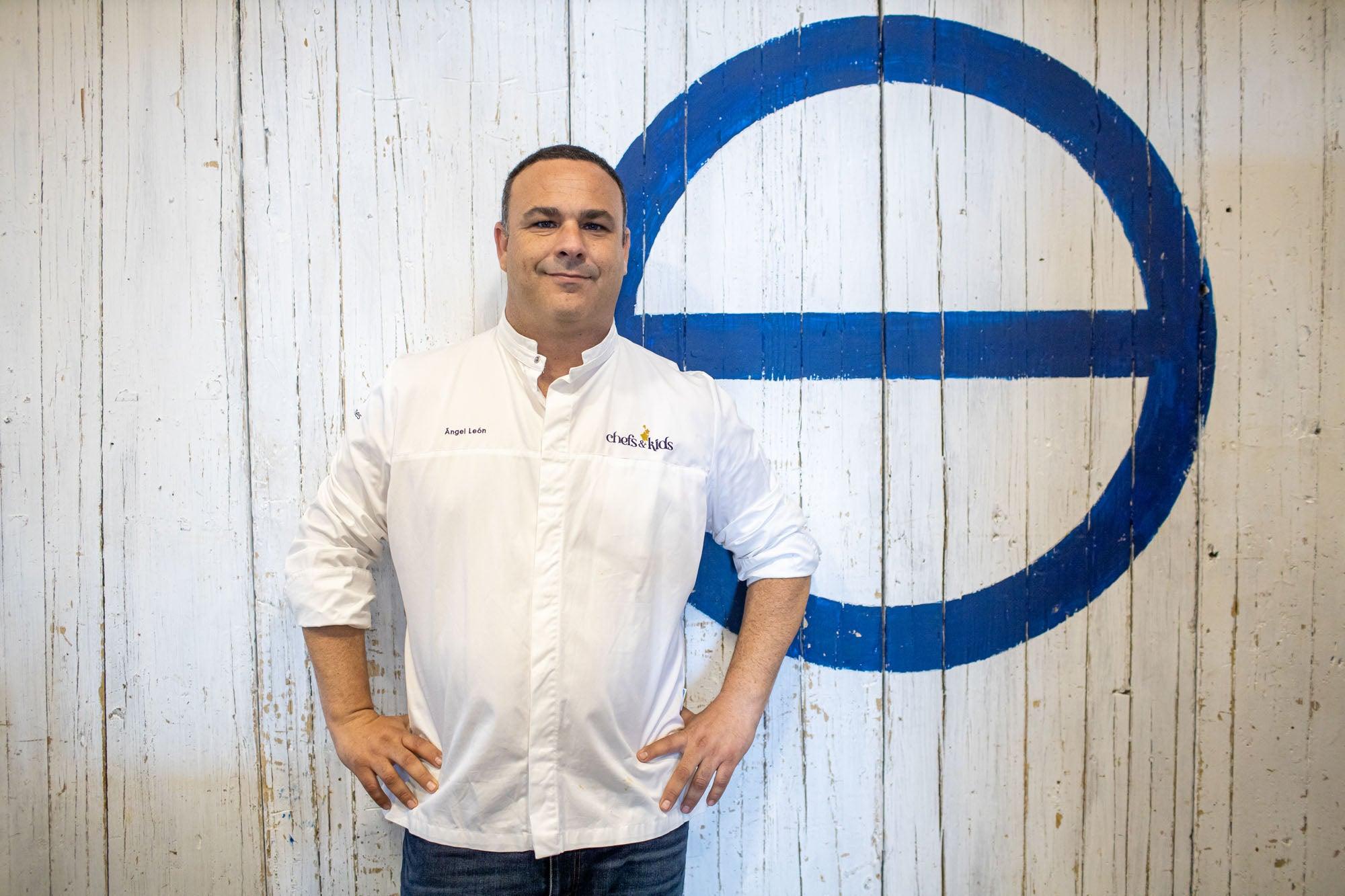 """Ángel León, conocido como el """"chef del mar""""."""