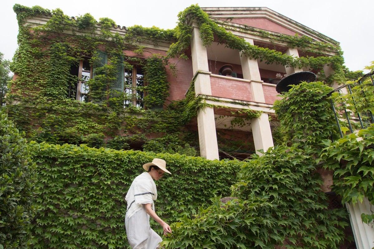 La casa de Enrique Montoliu, de estilo renacentista, fue finalizada en 1990.