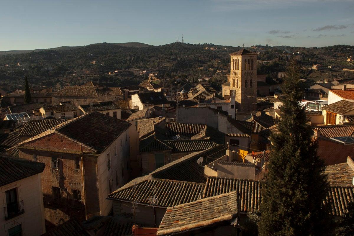 Panorámica del Barrio de los Conventos en la ciudad.