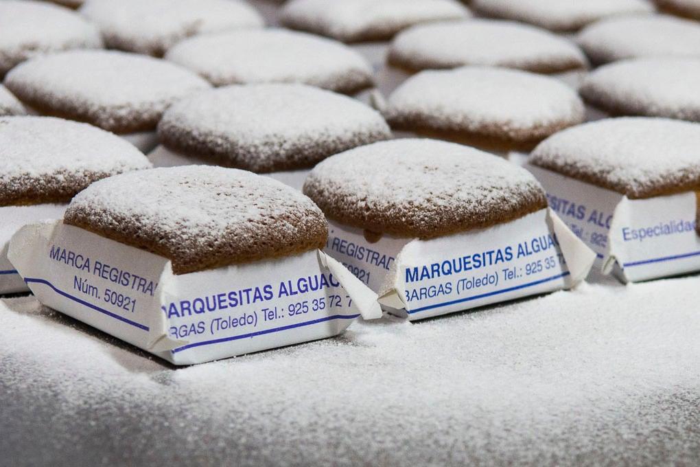 Marquesitas Alguacil recién glaseada.