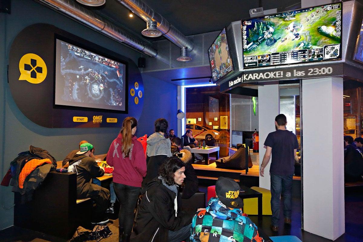 Oh my game, eSport bar en Madrid.