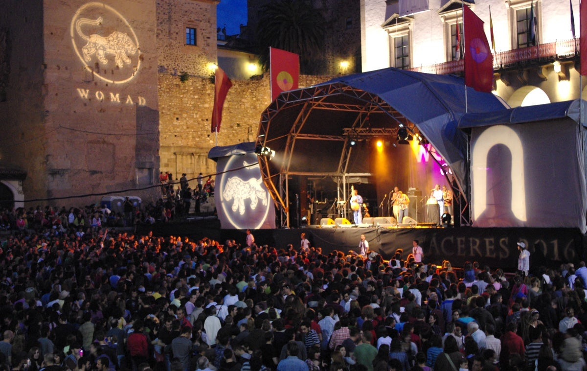 Festival Womad.