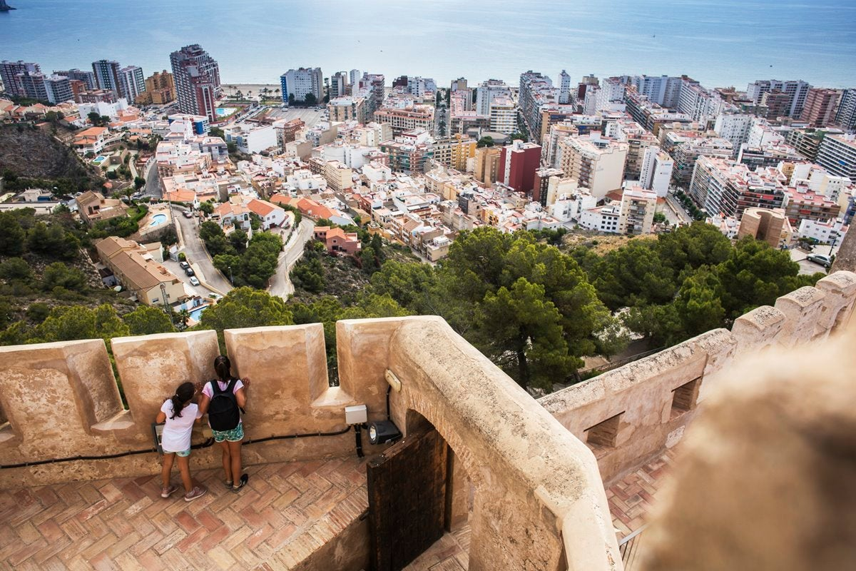 El Castillo de Cullera, un balcón sobre el mar con mucha historia.
