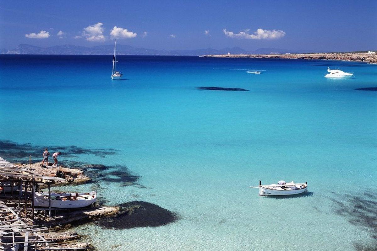 Formentera tiene la pradera oceánica más grande del Mediterráneo, declarada Patrimonio de la Humanidad. Foto: Turismo de Formentera.