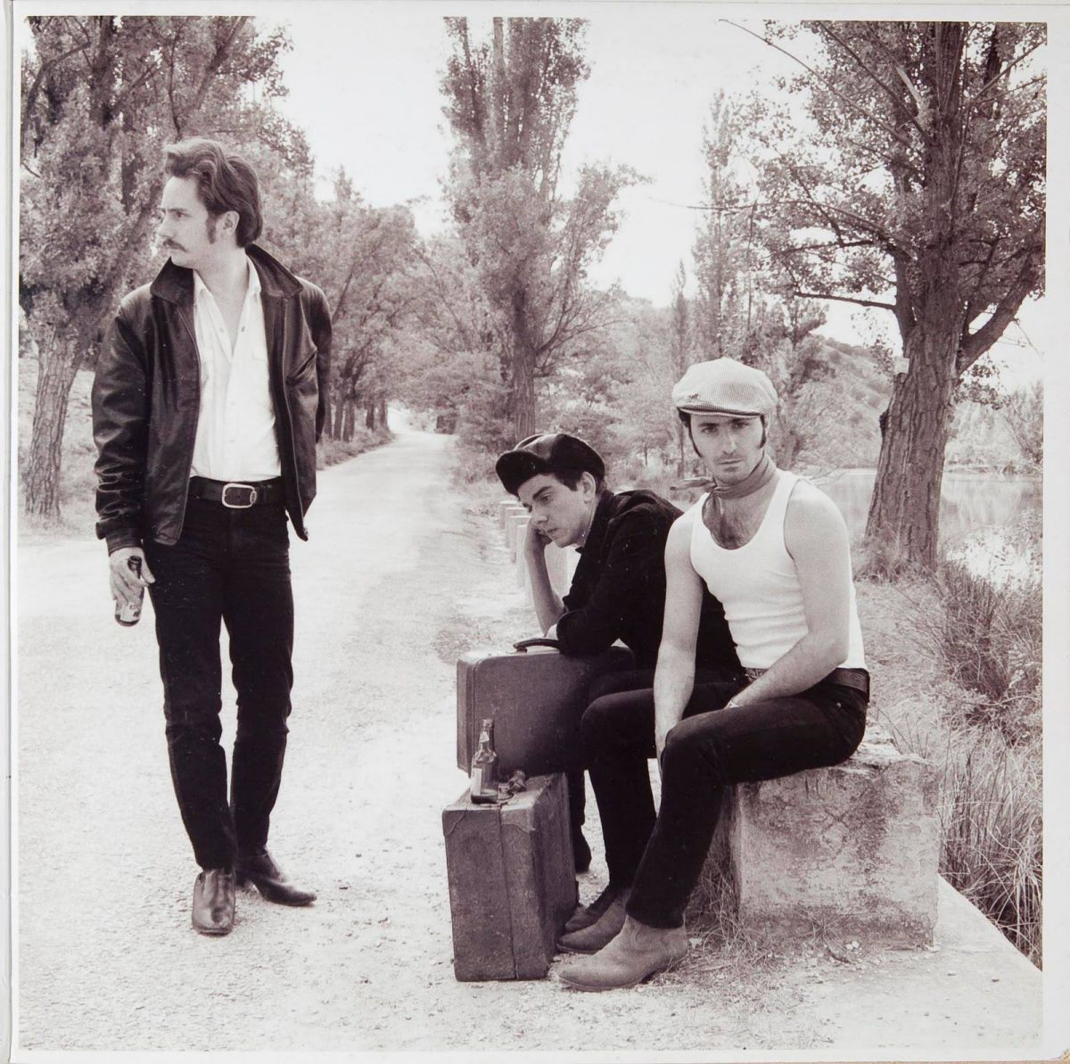 En algún lugar de la geografía... los 'Caligari' caminito a Soria. Foto: Facebook.