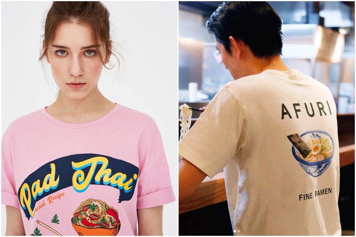 Ella lleva diseño de Pull&Bear; él de Uniqlo.