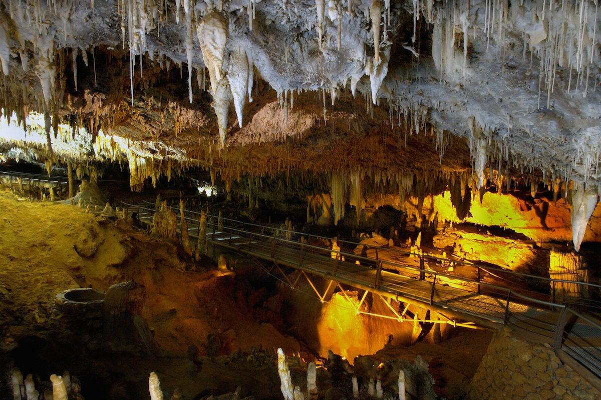 Cueva del Soplao.