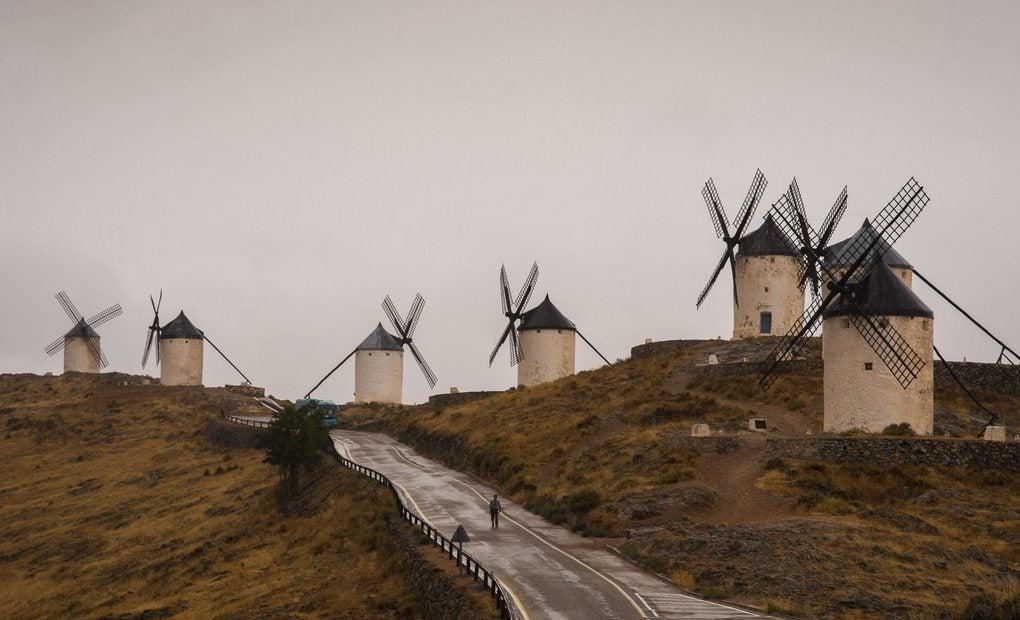 Los molinos de Consuegra.