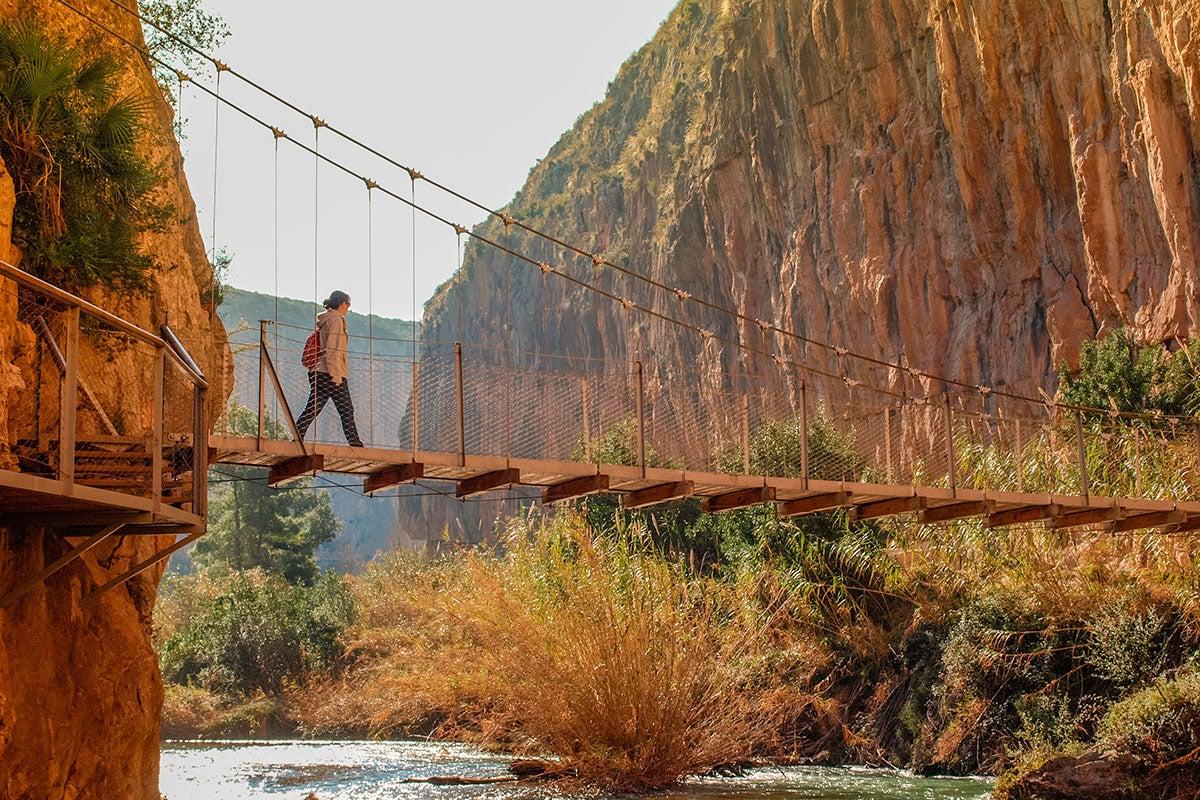 Uno de los puentes de Chulilla.