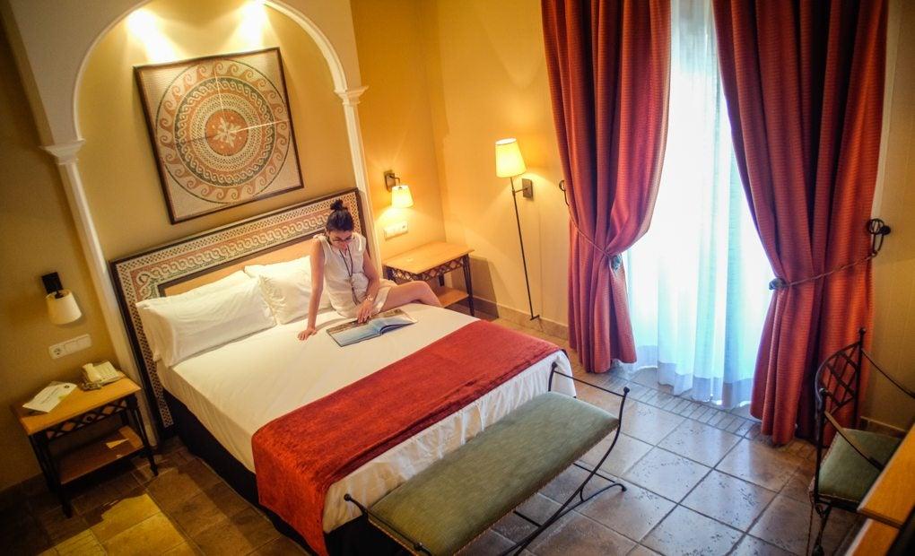 Los mosaicos del Hotel Iluniun nos transportan a la época romana.