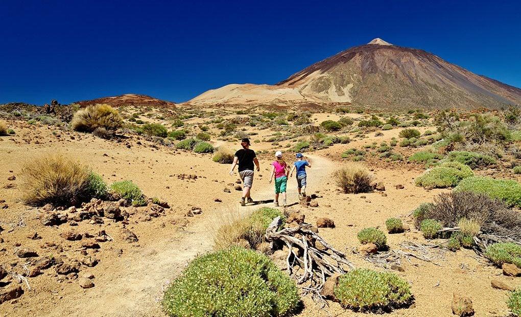 El Teide es uno de los principales atractivos turísticos de España.