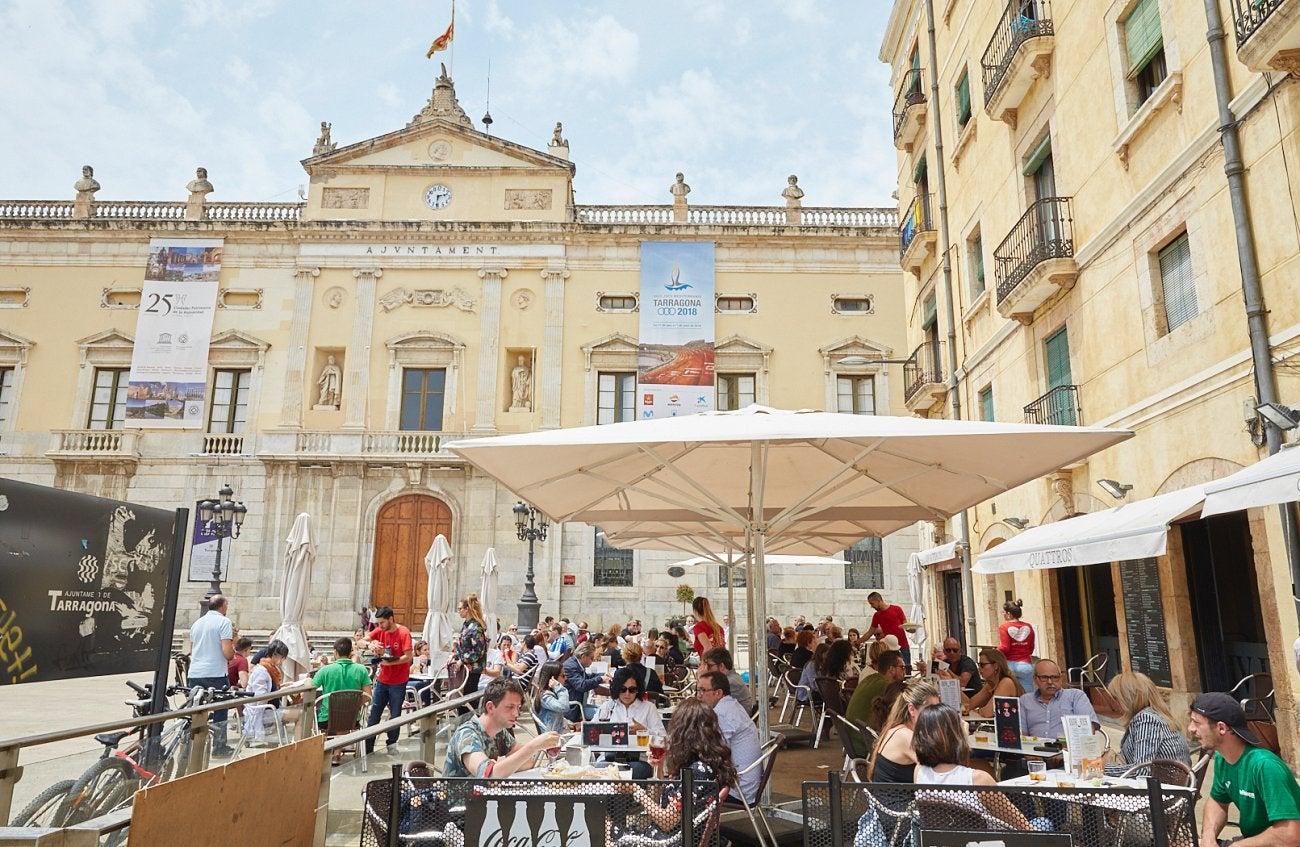 Restaurantes de Tarragona. Plaça de la Font