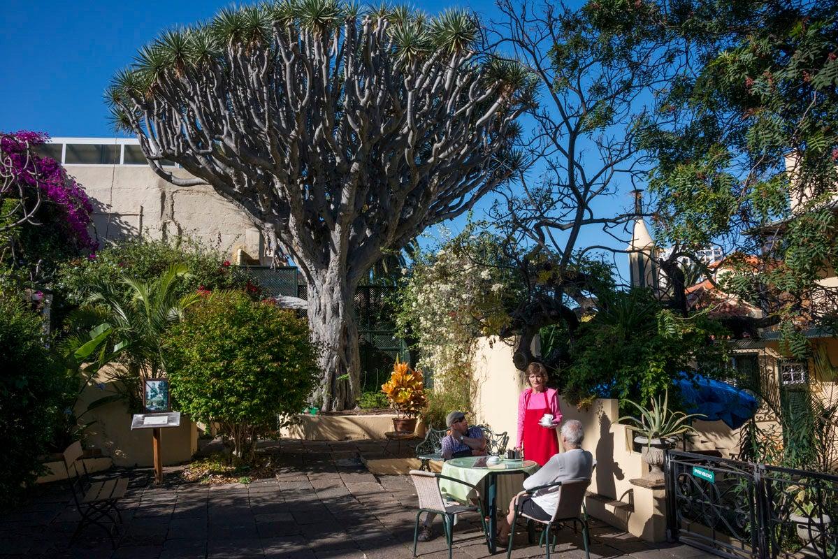 ¿A quién no le apetece un té en los jardines de Sitio Litre?