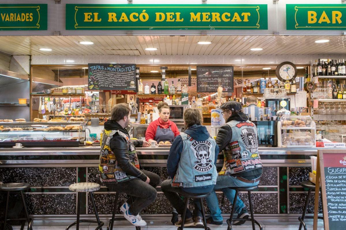 Bares de mercado en Barcelona