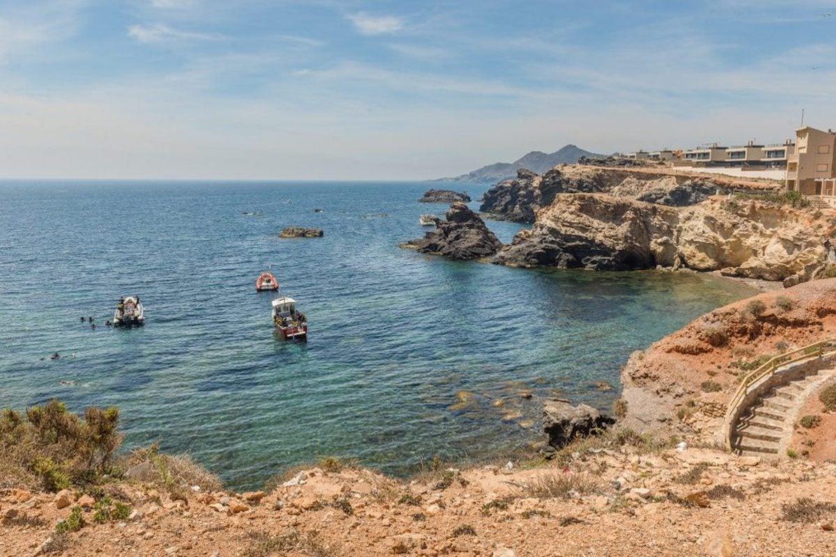 Unas playas cuya profundidad traicionera ha hecho encallar muchos barcos. Foto: Shutterstock.