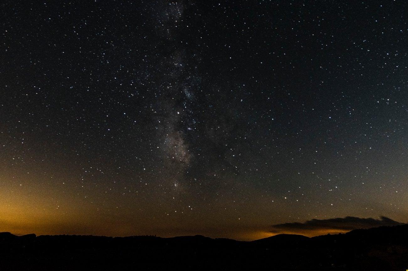 Sierra de Gúdar-Javalambre: Vistas desde la terraza de la masía 'Mas de Cebrián'
