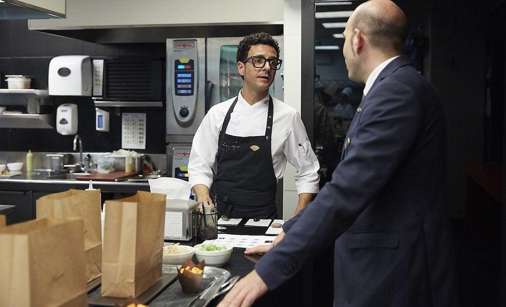 El chef Raül Balam capitanea una cocina cargada de referencias fílmicas