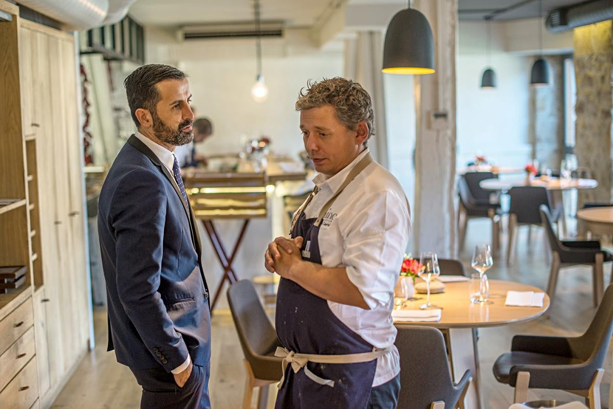 El chef en su restaurante. Foto: Alfredo Cáliz