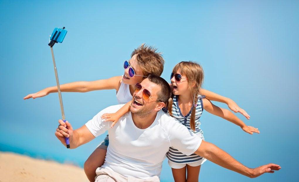 ¿Un selfie en familia?