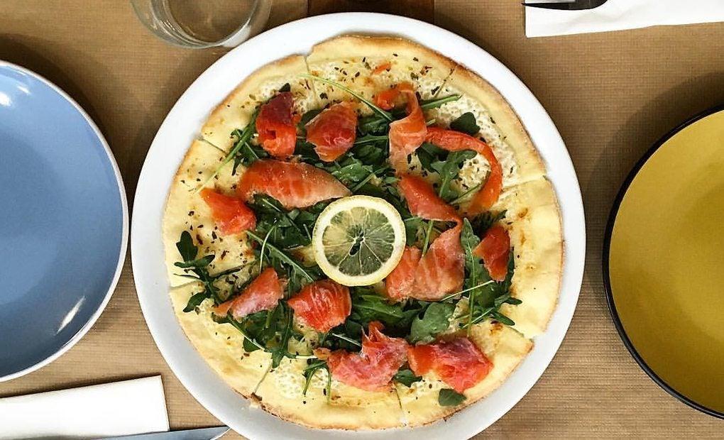 Pizza sin gluten. Foto: Messie Sin Gluten.