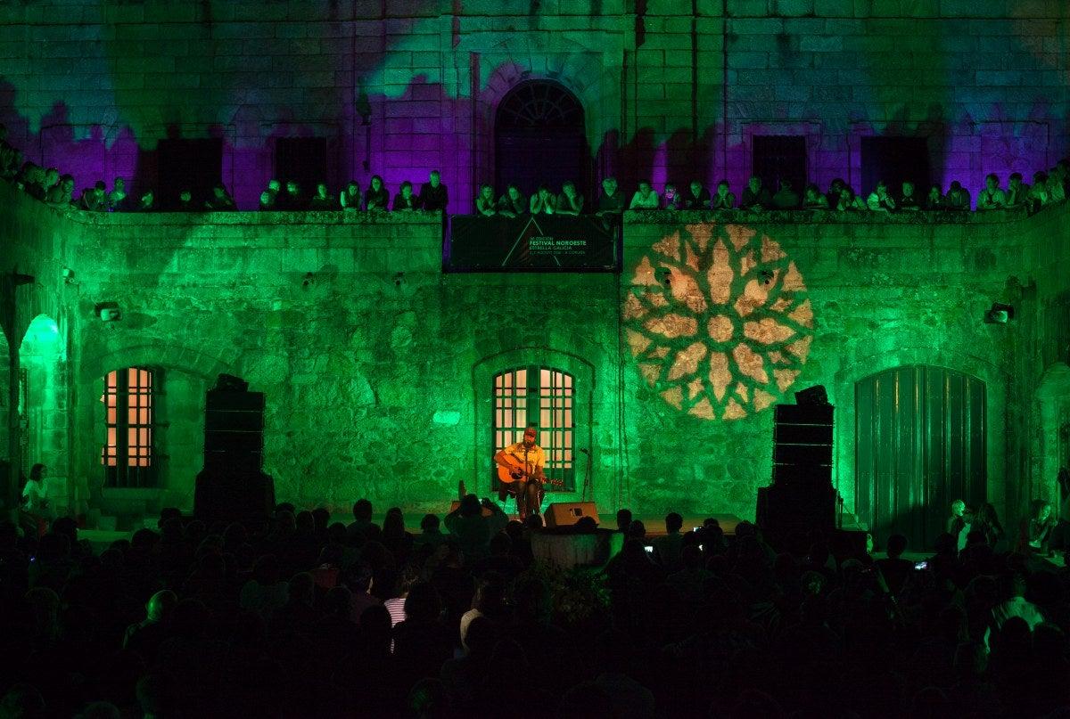Durante seis días, los coruñeses se rinden a la música de más de 90 conciertos repartidos por toda la ciudad. Foto: Vanessa Rabade.