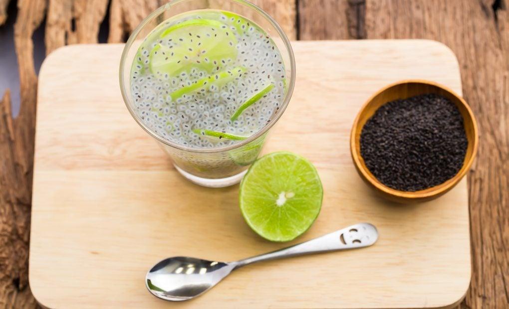 Agua de chía, la última sensación. Foto: Shutterstock