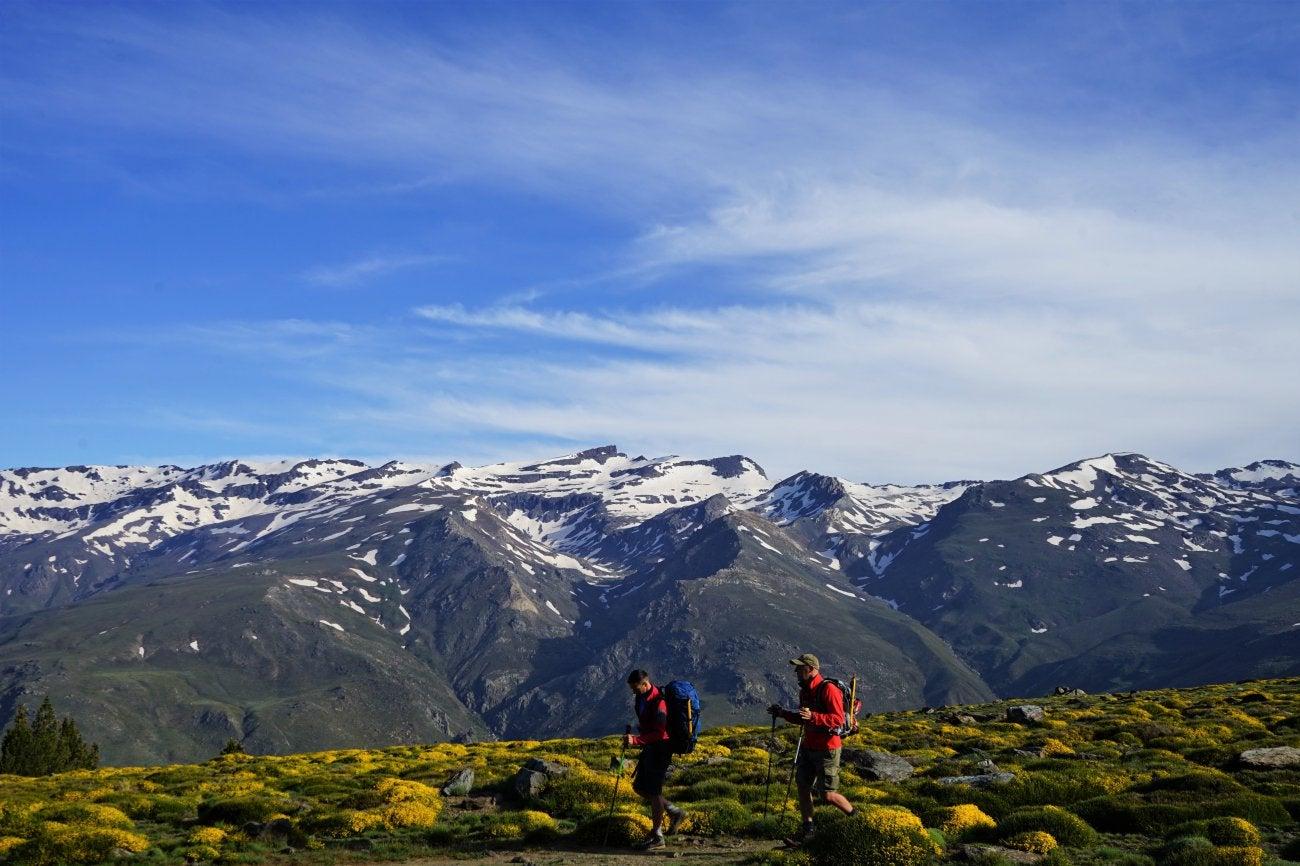 Ascenso al Mulhacén: Vuelta a la Hoya del Portillo