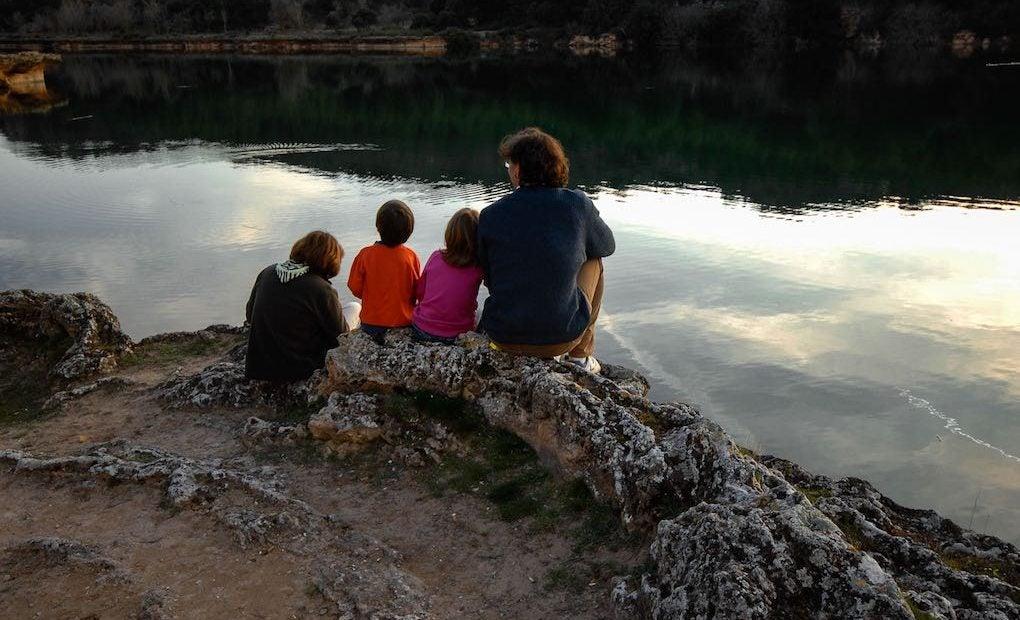 Observando el Guadiana en la Laguna La Colgada.