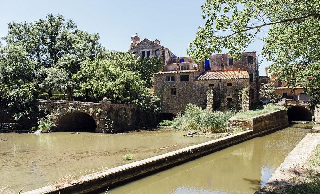 El antiguo molino, de 1452, ha estado operativo hasta principios del siglo XX.