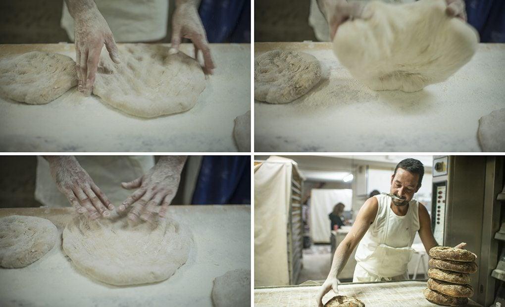 Un pan hecho con oficio durante toda la noche.