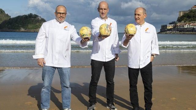 3 Soles Guía Repsol: Aitor Arregi, Jordi Vilà y Paco Pérez