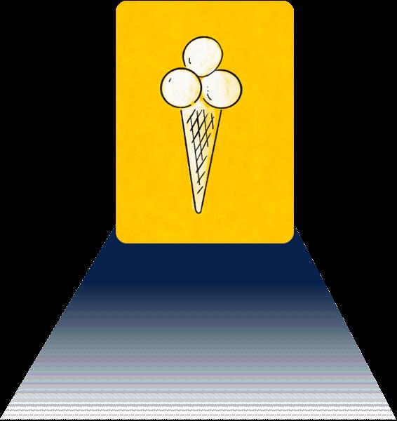 señal de heladerías