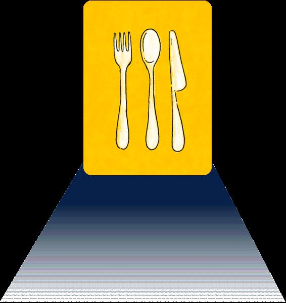señal de restaurantes